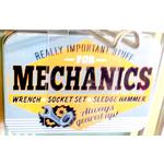 Mechanic Vintage Tin- Small.