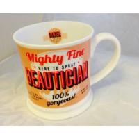 'Beautician' Diner Mug- Occupations Cup range