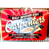 Carpenter Vintage Tin- Small.