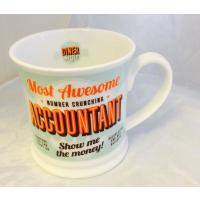 'Accountant' Diner Mug- Occupations Cup range