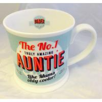 'Auntie' Diner Mug- Friends & Family Cup range