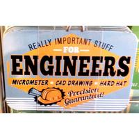 Engineer Vintage Tin- Small.