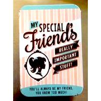 Special Friend Vintage Tin- Small.