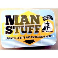 Man Stuff Vintage Tin- Small.