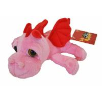 Suki Pink Dragon Soft Toy 'Smoulder'- Small