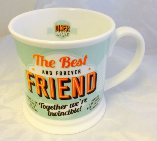 'Best Friend' Diner Mug- Friends & Family Cup range