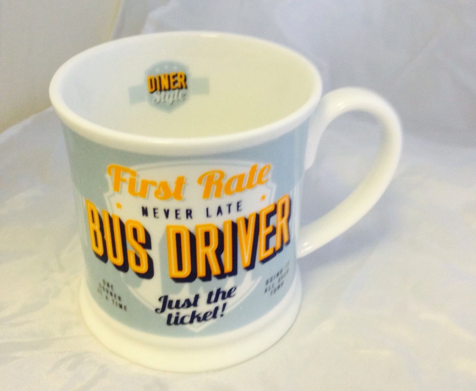 'Bus Driver' Diner Mug- Occupations Cup range