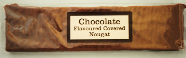 Chocolate Covered Nougat.