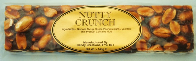 Nutty Crunch.