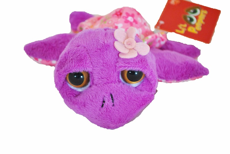 Suki Patterned Turtle Soft Toy 'Petal'- Small