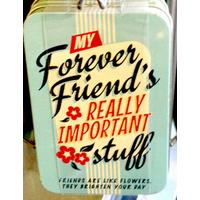 Forever Friend Vintage Tin- Small.