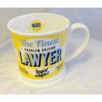 'Lawyer' American Diner Mug- Occupations Cup range
