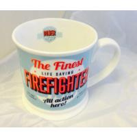 'Firefighter' American Diner Mug- Occupations Cup range