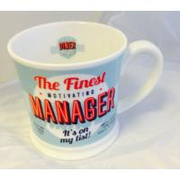 'Manager' American Diner Mug- Occupations Cup range