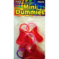 5 Mini Dummies- Red